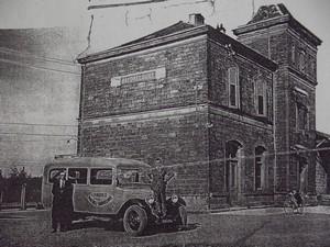 le-transporteur-devant-la-gare-de-baudrecourt