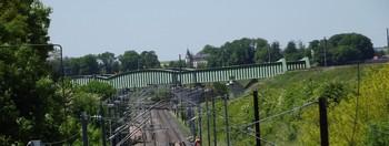 pont-vert-permettant-le-changement-de-voie